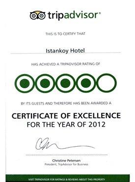 Ödüllerimiz - Hotel İstanköy