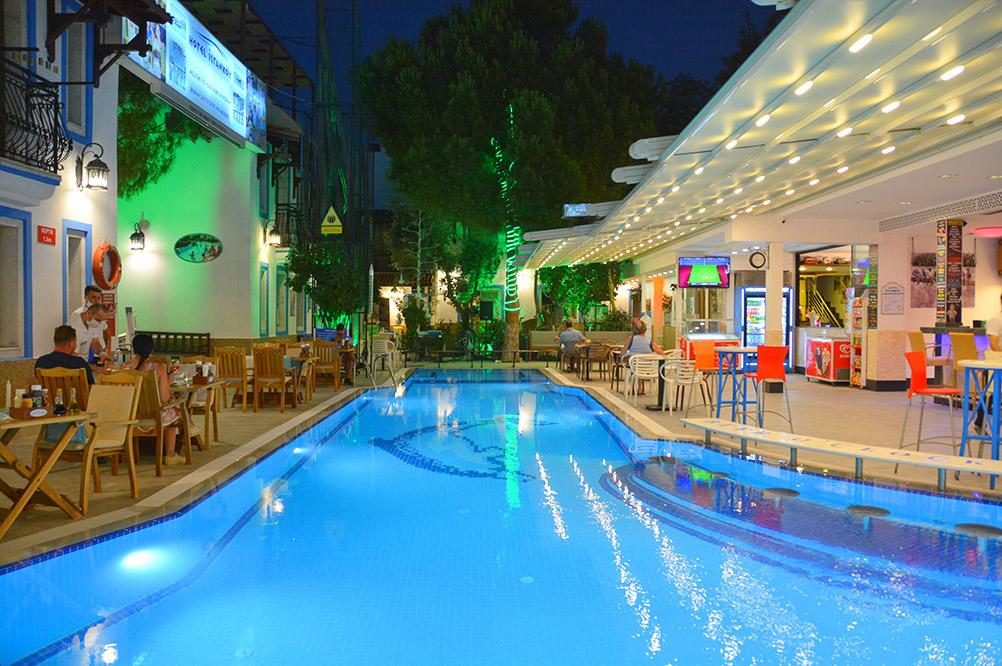 Bodrum Istankoy Hotel Swimming Pool